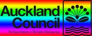 Auckland Council rainbow logo