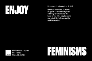 Enjoy feminisms
