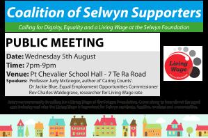 Living Wage Selwyn
