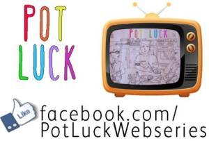 Pot Luck Sticker