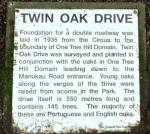 Twin Oak drive