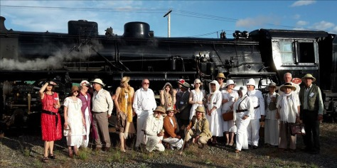 Steam passengers