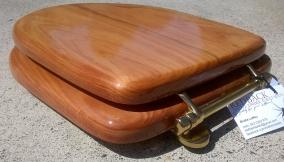 Bridie seat uninstalled macrocarpa