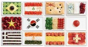 Charlotte food flags