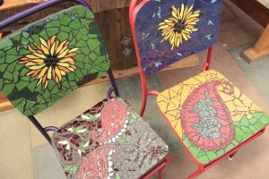 Charlotte Mosaic chairs