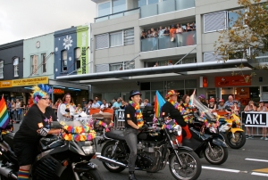 Dykes on Bikes Parade 220214 Image by Wendy Cunningham