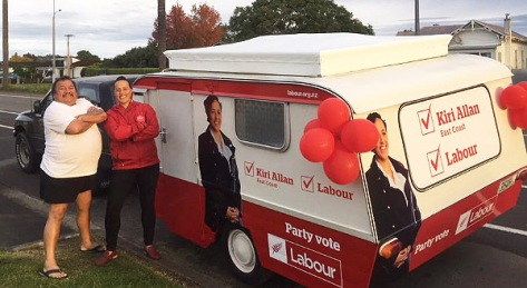 ElKiri, Ed Takako & Coastie Campaign Caravan