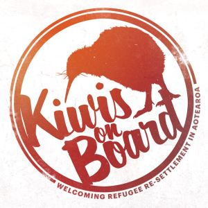 Kiwis on Board logo