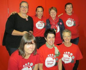Living wage supporters auckland