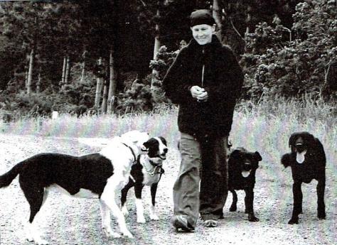 Megan & dogs