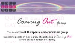 OUTlineComing Out Flyer