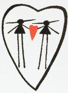 Eesti two women symbol