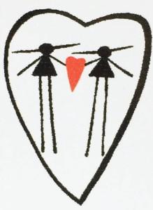 Eesti two women symbol