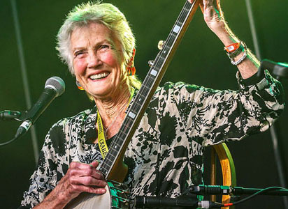 Peggy Seeger now