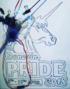 DP drawing machine