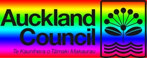 Auckland Council rainbow logo