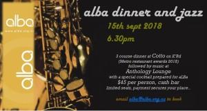 ALBA dinner