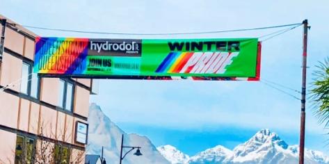 Winter Pride banner