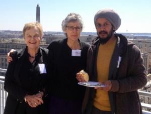 GG colleagues Washington mtg volunteering & SDGs